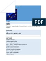 Datos de La Union Europea