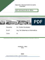 Clases Sociales en El Peru