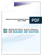 Manual de Usuario RNBD
