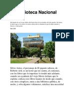La Biblioteca Nacional Hoy