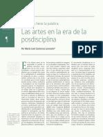Posdisciplina [María José Contreras]