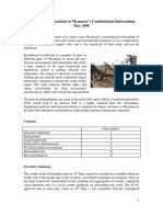 Independent Assessment of Myanmar's Constitutional Referendum pdf