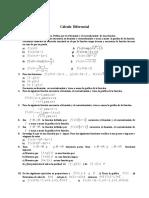 Ejercicios para calculo diferencial 1