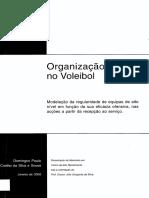 Organizacao Tactica No Voleibol