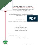 REPARACIÓN DE DUCTOS EN SERVICIO MEDIANTE ENVOLVENTES