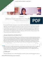 Viviana Díaz_ La Voz de La Línea Aborto Libre - Sentidos Comunes