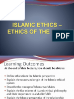 Islamic Ethics Etrhics of the Soul