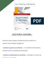 Auditoria Interna e Externa Resumo