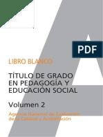 Libro blanco de pedagogía Vol.2