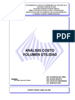 Analisis Costo Volumen Utilidad