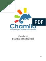 Chamilo 1.9 Manual Del Docente