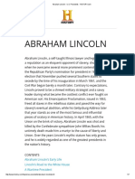 Abraham Lincoln - U.S. Presidents - HISTORY