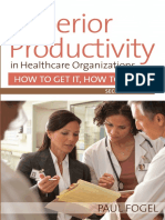 Superior Productivity in Healthcare Management, 2nd Edition (Excerpt)