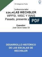 WISC-IV. Pasado, Presente y Futuro