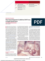 NewSepsis Diagnostic Guidelines Shift Focus to Organ Dysfunction