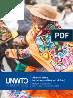 Turismo Cultural en Peru. Organización Mundial del Turismo (OMT)
