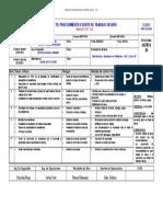 F  03  PETS - Procedimiento Escrito de Trabajo Seguro Montaje de Estructuras Nivel+22 Partida 15.22.5