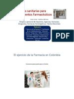 Documento Completo Normas Sanitarias Para Esteblecimientos Farmaceuticos