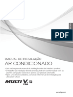Manual de Instalação Mult V - VRF LG