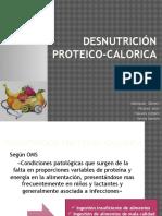 DESNUTRICIÓN PROTEICO-CALORICA