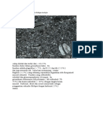 Album Petrografi Batuan