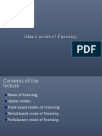 Islamic Modes of Financing Revised 4