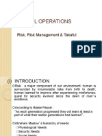Risk Management and Takaful