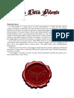 La Città Dolente - Manuale Del Giocatore 2.1