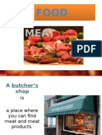 Meat Presentation