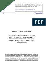 Hernandez - Teorias Del Estado Jessop, Mann y Otros