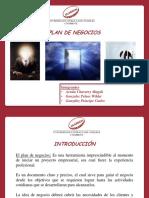 Plan de Negocio - Ideas DE NEGOCIO