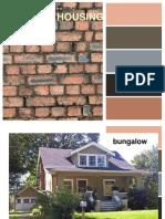 Types of Housing