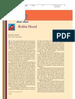 22. Robin Hood
