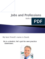 Jobs and Professions Skills and Qualities