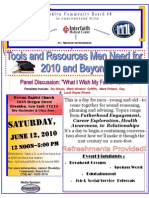 Tools and Resources Men Need for 2010 Event