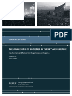 The Awakening of Societies in Turkey and Ukraine