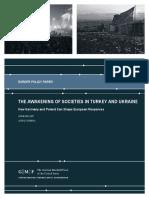 The Awakening of Societies in Turkey and Ukraine