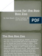 a cat house for the boo boo zoo