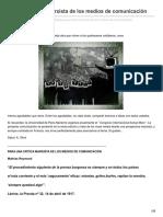 Kmarx.wordpress.com-Para Una Crítica Marxista de Los Medios Decomunicación
