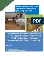 Nakivale Refugee Innovation Survey Report