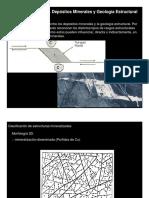 Clase Estructura y Depositos Minerales 2012