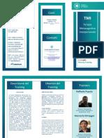Brochure TMI Firenze 2016