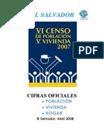 VI Censo de Población v de Vivienda 2007