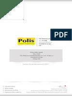 1. CALDERA, Alejandro. Ética y Política. Revista Polis 10