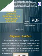 Régimen Jurídico General de La Profesión Docente