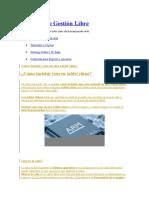 Software de Gestión Libre