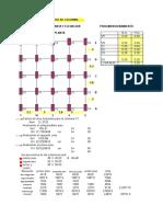 Diseno de Columnas y La Diagrama de Interaccion Xls