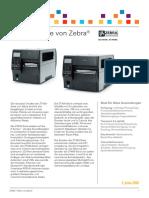 Zebra Zt400 Datenblatt De