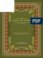 Issue of Kissing Thumbs