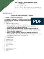 Informe de Emprendimiento